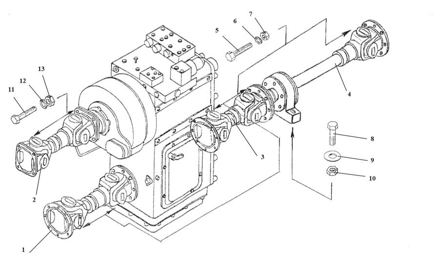 Вал карданный 157КД-2202011-02 (Амкодор)